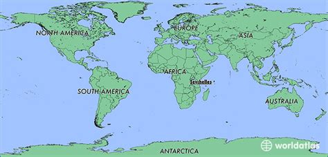 where is seychelles on world map where is seychelles where is seychelles located in the