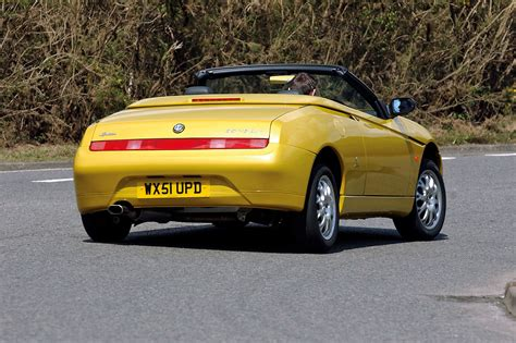 Alfa Romeo Spider Review by Used Car Buying Guide Alfa Romeo Spider Autocar
