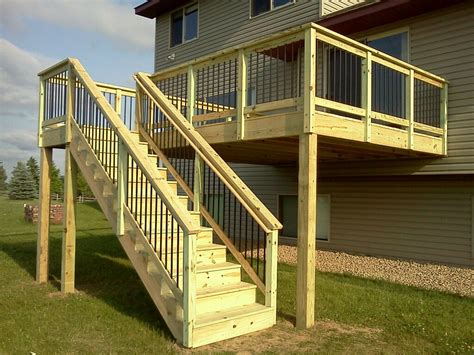 deck 5 k ln wood deck railing spindles doherty house