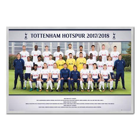 tottenham hotspur team photo 2017 2018 season poster iposters