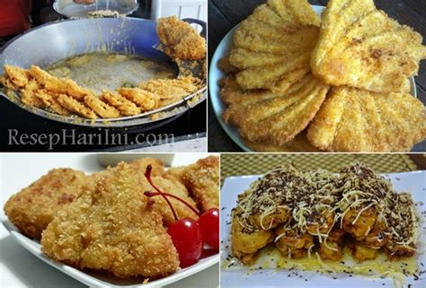 cara membuat pisang nugget khas makassar resep pisang goreng crispy panir pisgor pasir renyah