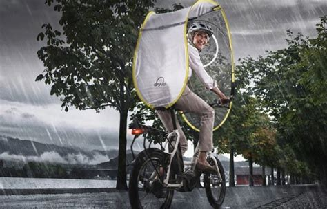 Nubrella Ultimate Weather Protector It Or It by Dryve Weather Protection System For Bicycles