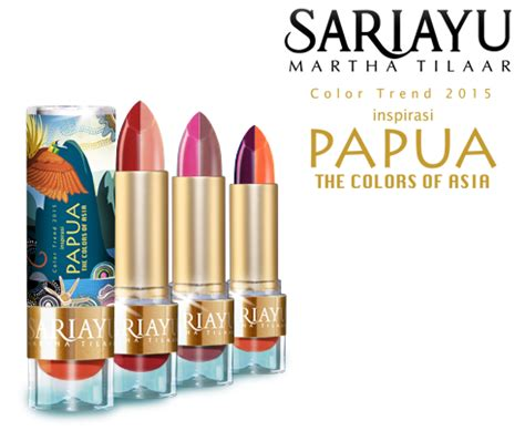 Harga Blush On Sariayu 2015 review sariayu color trend 2015 papua lipstick in p03 conietta cimund