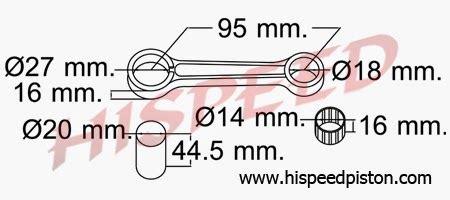 Stang Seher Piston Suzuki Ts 125 why45 motor spesifikasi connecting rod stang seher suzuki