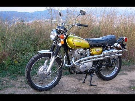 honda cl350 scrambler k4 1972