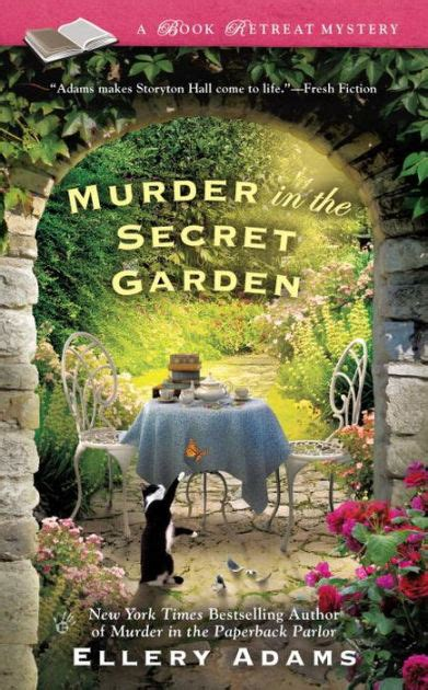 secret garden coloring book barnes and noble murder in the secret garden book retreat series 3 by