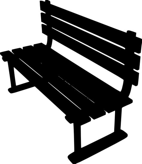 bench outline benches vector home decoration ideas