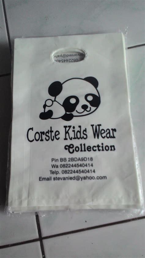 Plastik Lebar 12 Cm Tebal 05 Sablon jual tas kantong plastik kecil sudah termasuk sablon ukuran 20x30 ummi store