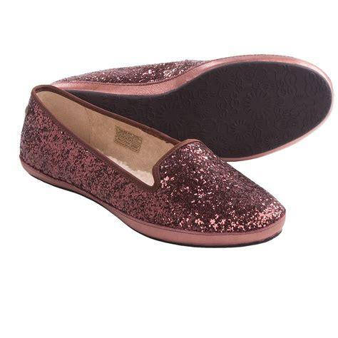 sparkly slippers for ugg 174 australia alloway glitter shoes slip ons for