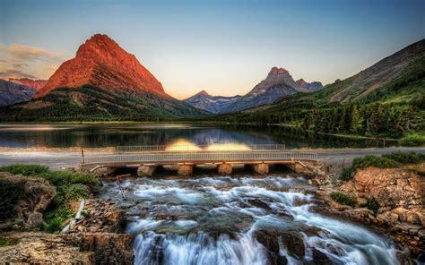 glacier national park glacier national park montana usa mystery wallpaper