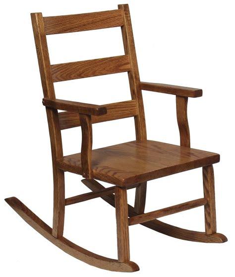 solid oak ladder back chairs oak ladder back shaker child s rocking chair