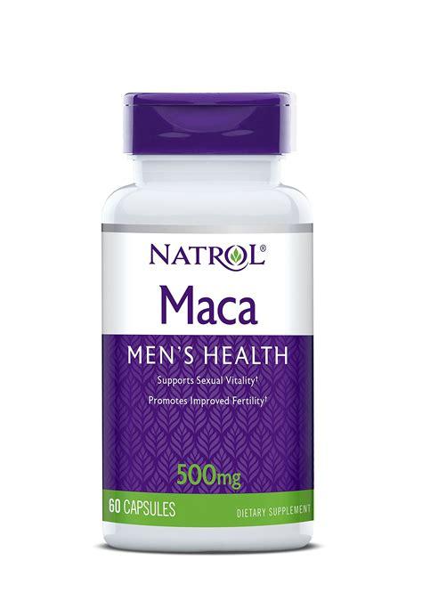 Natrol Maca 60 klaire labs p 5 p plus with magnesium 100