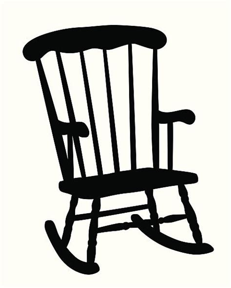 royalty free rocking chair clip vector images