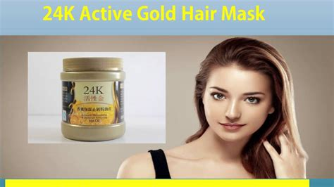 Masker Rambut Hair Energi masker rambut terbaik 24k active gold hair mask