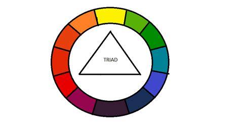 triad color uniquecozytreasures color wheel made easy