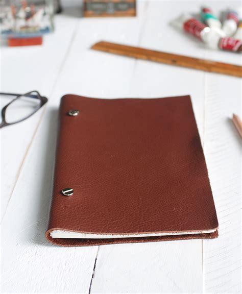 sketchbook leather diy leather sketchbook 187 the merrythought