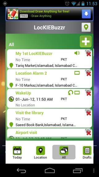best android reminder app lockiebuzzr location based reminders with multimedia notes android
