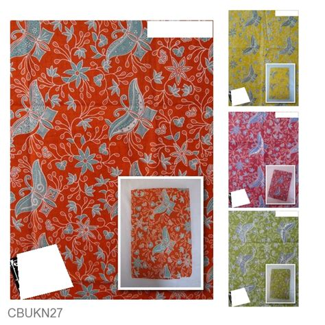 Sprei Katun Motif Batik kain batik katun print motif tari kupu lintang kain