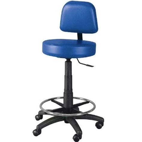 Lab Stool With Back by Winco Gas Lift Lab Stool With Back