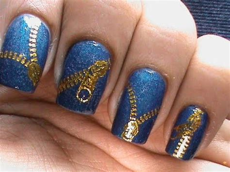 nail art zipper tutorial zip nail art designs nail polish how to use cute nails