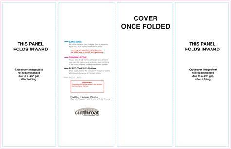 11x17 brochure template cutthroat printcustom brochure printing