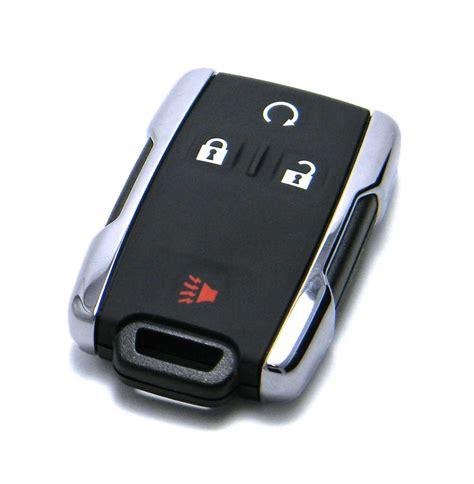 resetting gm key fob 2014 2018 chevrolet silverado key fob remote chrome logo