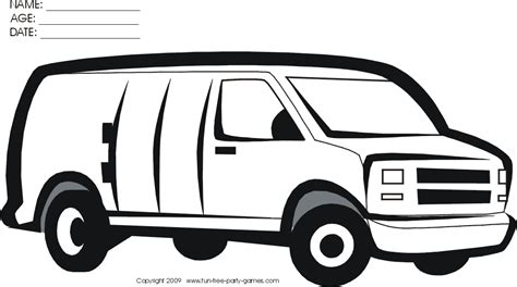 coloring page for van vans clipart coloring page pencil and in color vans