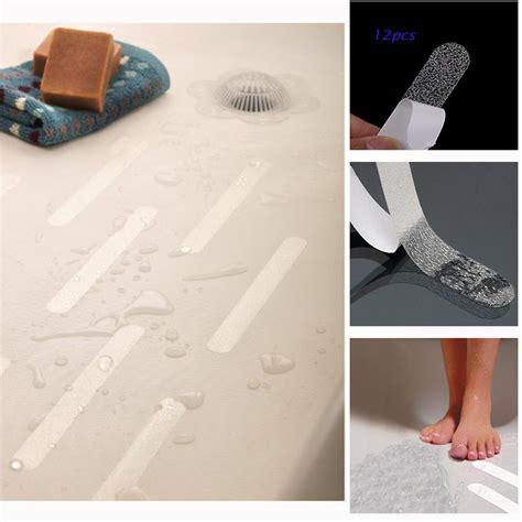 no slip bathtub decals 12pcs anti slip bath grip stickers clear non slip flooring