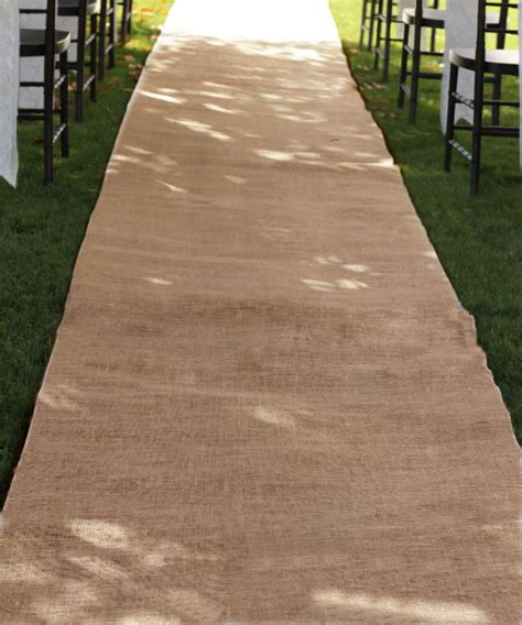 Wide Wedding Aisle Runner by Burlap Aisle Runners Burlapfabric Burlap For