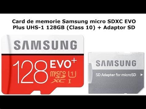 Samsung Microsdxc Evo Plus Class 10 Uhs 1 64gb Adapter card de memorie samsung microsdxc evo plus uhs 1 class 10