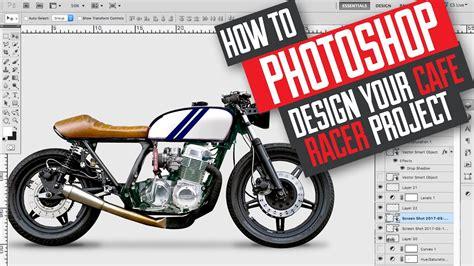 design indaba cafe racer how to photoshop design and build a cafe racer scrambler
