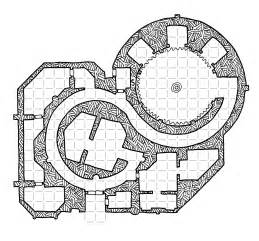 Rpg Floor Plans friday map the spiral temple dyson s dodecahedron