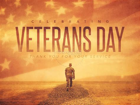 Celebrating Veteran S Day Christian Powerpoint Powerpoint Sermons Veteran Powerpoint Template