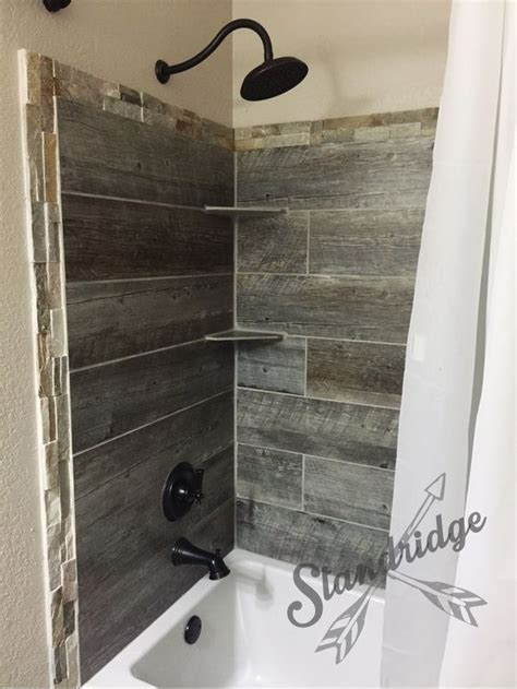 rustic tile bathroom rustic bathroom barnwood ceramic tile prim bathroom