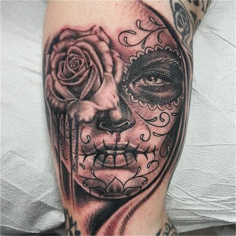 day of the dead tattoo 90 best day of the dead tattoos designs meanings 2018