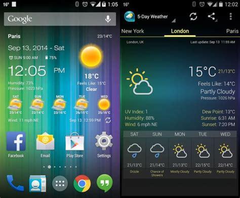 como se dice themes en español 10 excelentes aplicaciones de clima para android marcelo