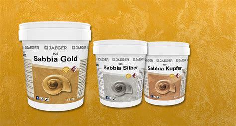 Wandfarbe Metallic Kupfer by Metallic Effekt Wandfarbe In Gold Silber Und Kupfer Jaeger
