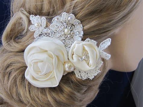 wedding hair flowers silk bridal hair clip wedding hair accessories bridal hair