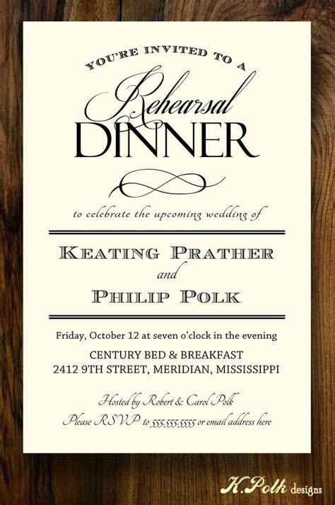 wedding rehearsal dinner invitations 42 best rehearsal dinner invites images on