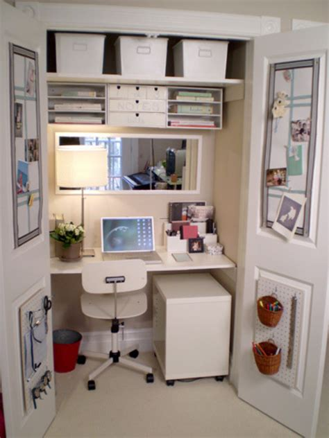 Small Home Office Room Small Space Home Decorating Ideas Decosee