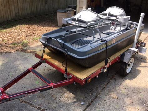 small bass boats for ponds need info on trailering 2 man pond boat pond boats