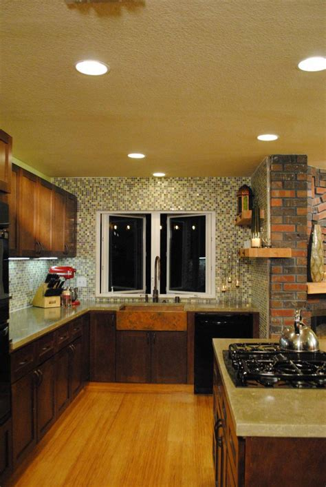 copper kitchen remodel design  misha