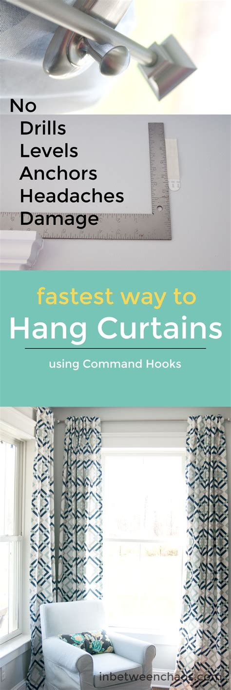 Command Hook Curtains Best 25 Hang Curtains Ideas On Kitchen Blinds From Ikea Ikea J Hooks And Kitchen