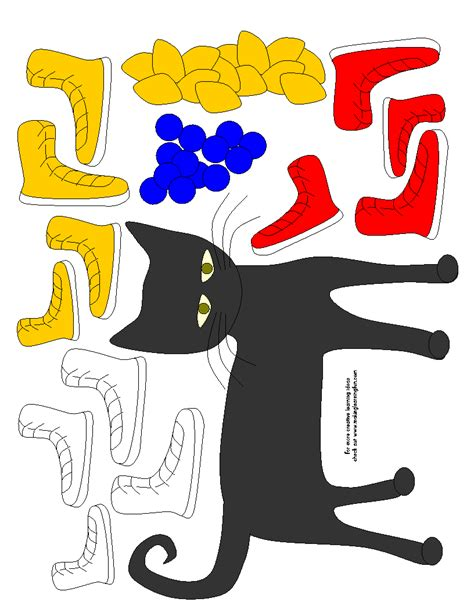 pete the cat template pete the cat templates classroom guidance lessons