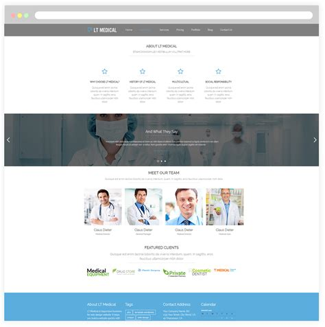 wordpress theme free hospital lt medical free responsive hospital medical wordpress