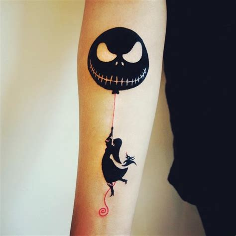 nightmare before christmas tattoos designs 40 cool nightmare before tattoos designs
