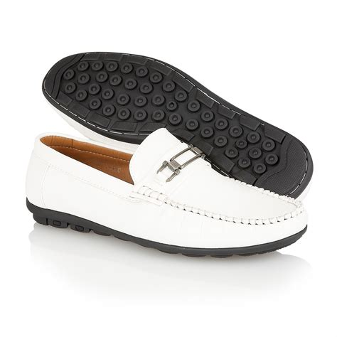 mens designer loafers shoes mens designer leather look italian loafers casual moccasin