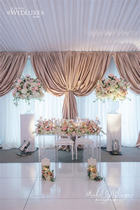 wedding backdrops toronto beautiful garden tent wedding at the doctors house