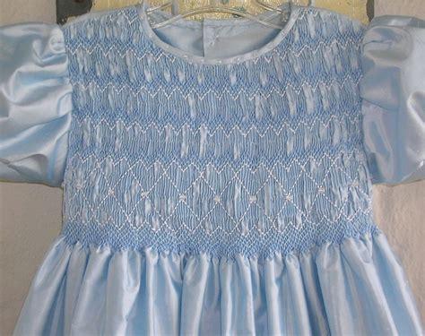 Grosir Dress Blue Silk Headband smocked silk dress blue silk dupioni with crinoline