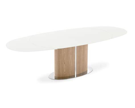 odyssey extending table elliptical top calligaris cs 4043